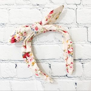 Other - Toddler Girl's Flowery Bow Headband